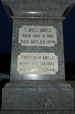 Thomas William T Will Abell