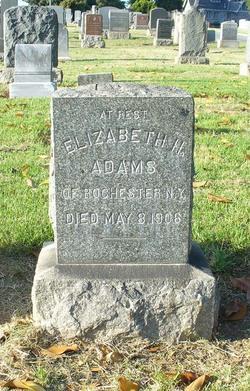 Elizabeth H. <i>Baldwin</i> Adams