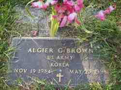 Algier G. Brown