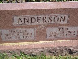Hallie <i>Boston</i> Anderson