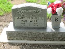 Mary Cornelia <i>Moran</i> Barnwell