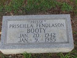 Priscilla Prissy <i>Fendlason</i> Booty