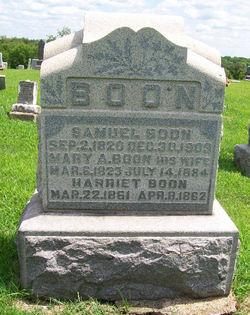 Mary A. <i>Reaney</i> Boon