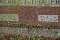Myrtle M Morgenthaler