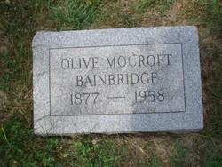Olive <i>Mocroft</i> Bainbridge
