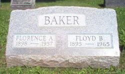 Florence A. <i>Calkins</i> Baker