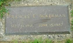 Frances Elizabeth <i>Mueller</i> Ackerman