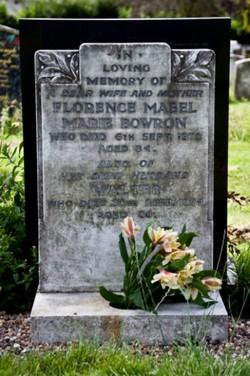 Florence Mabel Marie <i>Coltman</i> Bowron