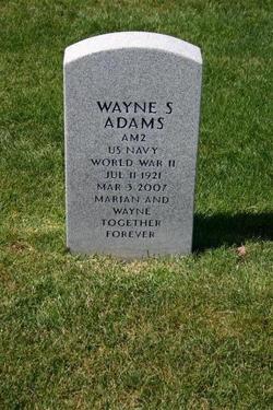 Wayne S Adams