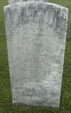 Rememberance Chamberlain