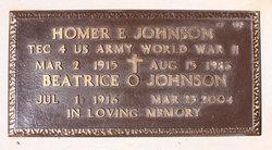 Beatrice O Johnson