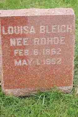 Louisa <i>Rhode</i> Bleich