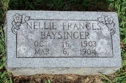 Nellie Frances Baysinger
