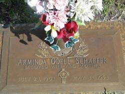 Arminda <i>Odell</i> Schaefer