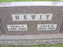 Arch D Hewit