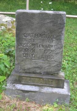 Catharine <i>Haught</i> Tennant