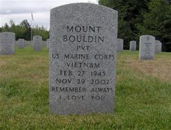 Pvt Mount Bouldin