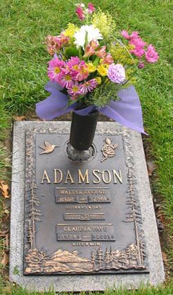 Claudia Faye <i>Martin</i> Adamson