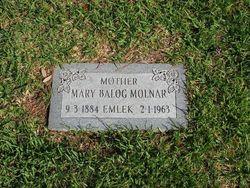 Mary <i>Balog</i> Molnar