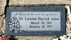 Dr Laverne <i>Derrick</i> Amos