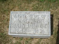 Anne Bainbridge