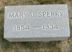 Mary Jane <i>Penland</i> Sperry