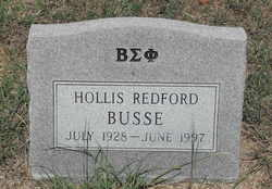 Hollis Redford Busse