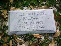 Nell <i>Hillhouse</i> Baldwin