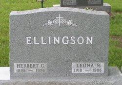 Leona Nettie Onie <i>Morse</i> Ellingson