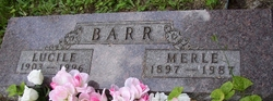 Lucille Cecil <i>McDaid</i> Barr