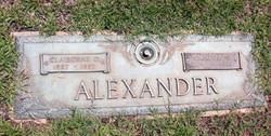 Claiborne G Alexander