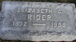 Elizabeth Catherine Rider