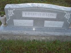 Edna Cora <i>Bennett</i> Brotherton