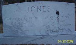 Clarence Foster Jones