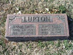 John Allen Al Lupton