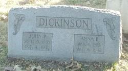 Anna P Dickinson