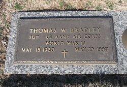 Sgt Thomas W. Bradley