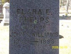 Clara E. <i>Phelps</i> Williams