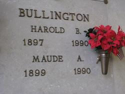 Maude A. Bullington