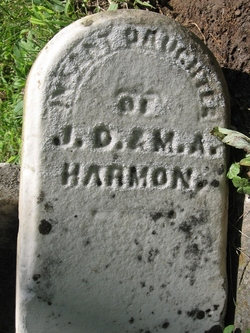 Infant Daughter Harmon