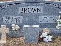 Willie Perry <i>Mann</i> Brown