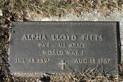 Alpha Lloyd Pitts