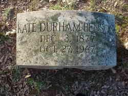 Kate Paine <i>Durham</i> Benson
