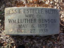 Jessie Estelle <i>Butts</i> Benson