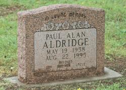 Paul Alan Aldridge