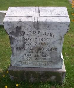 Mary <i>Parsons</i> Clark