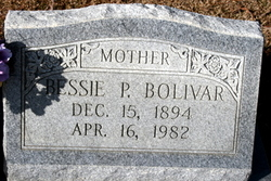 Bessie Pearl <i>Parker</i> Bolivar