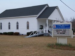 Camp Branch Original Free Will Baptist Church Ceme