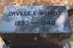 Orville Earl Wemple