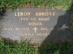 Pvt Leroy Abbott